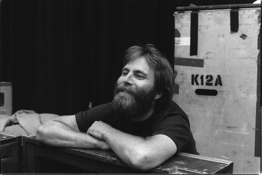 Brent Mydland, July 1984. Photo by David Gans.