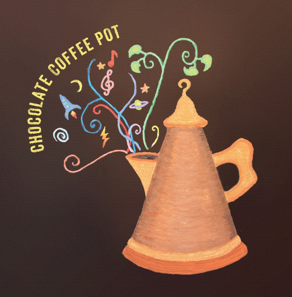 Chocolate Coffee Pot