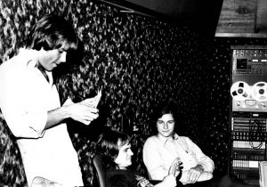 Bob Weir, Keith Olsen, and Davd Gans