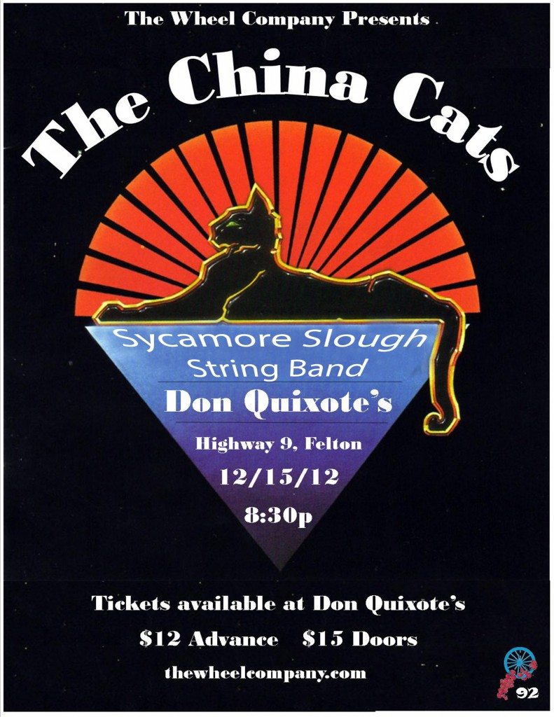 China Cats and S3B at Don Quiote's 12/15/12