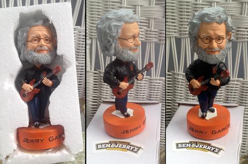 Jerry Garcia bobblehead